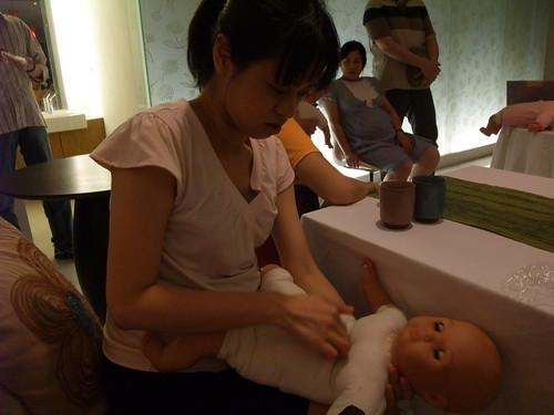 嬰兒急救 @ 沁月