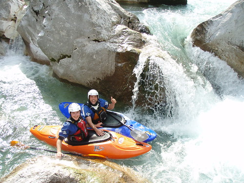 Fun on the Soča