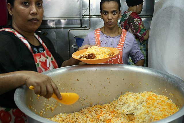 The famous three sisters who serve up the briyani