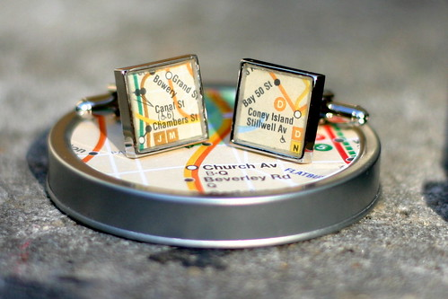 Subway Station Cufflinks