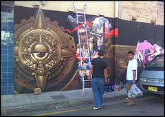(pigeonpoo) Tags: nokia mural sydney newtown 6500