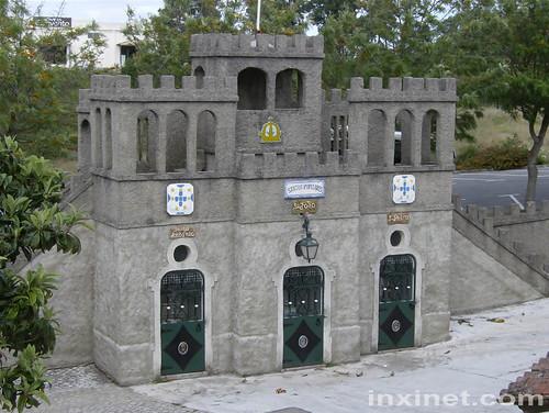 Miniatura das torres