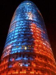 Torre Agbar (hburrussiii) Tags: barcelona spain torre agbar