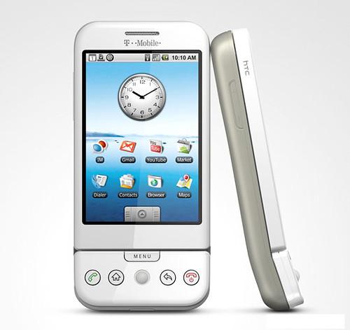 T-Mobile HTC G1 Weiß