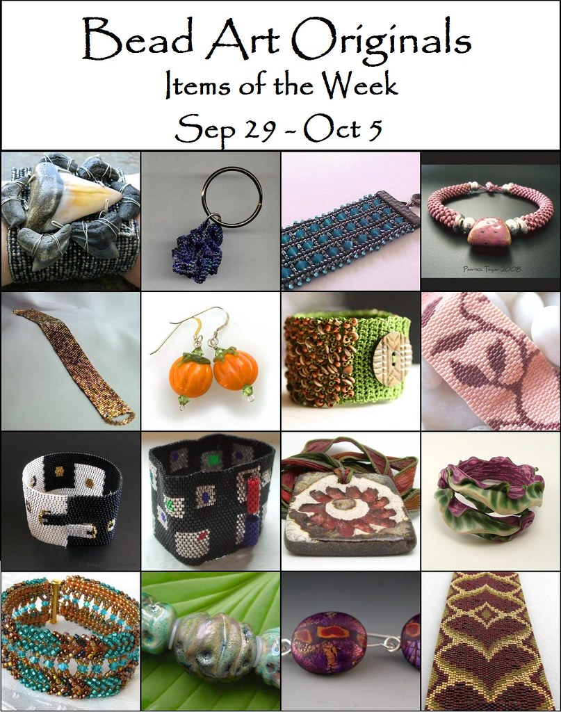 Bead Art Originals Items of the Week (9/29 - 10/5)