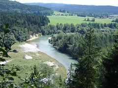 River Isar seen from the