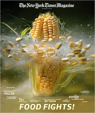 NYTimes food magazine cover