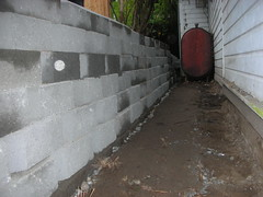 The Great Wall of Chivan (Maryja) Tags: terrace landscaping westseattle retainingwall tinybella