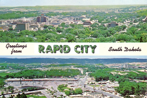 Greetings from Rapid City South Dakota