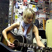 The wondrous Gemma Hayes a-tunin'...