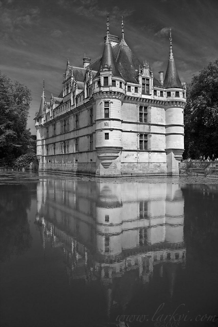 Château d'Azay-le-Rideau, Indre et Loire, France, July 2008
