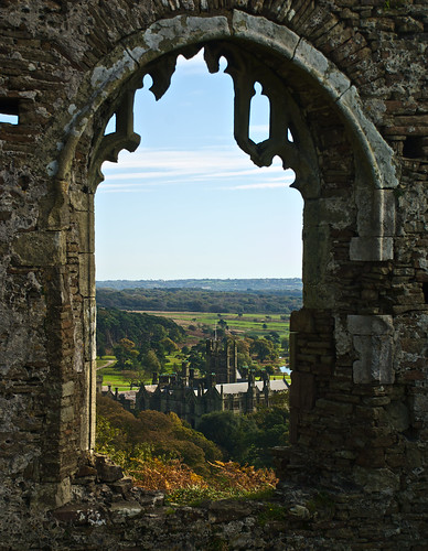 Margam House Through The Window