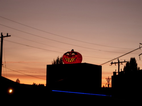 The Sun Sets on the Great Pumpkin