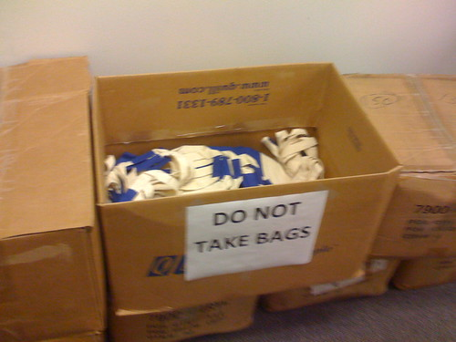 Do Not Take Bags
