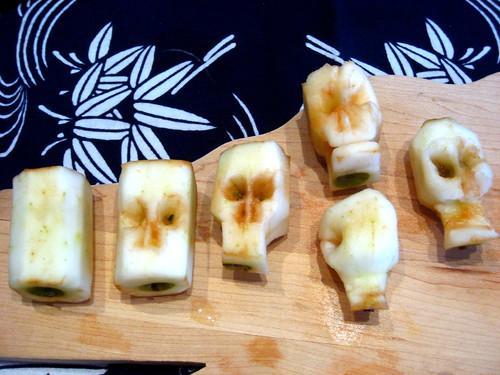 Aaron's apple skull tutorial