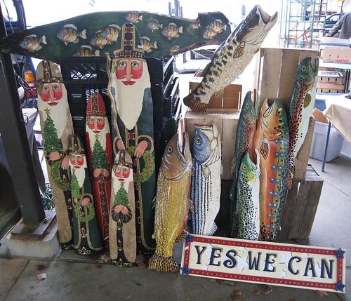 Victoria Fox's Santas, Fish, Americana