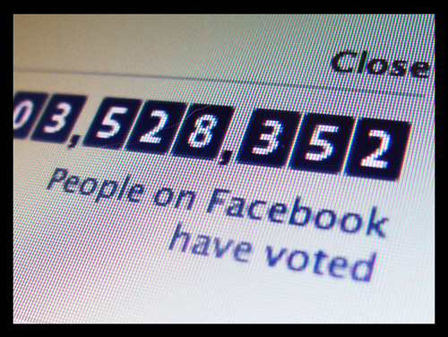 Election & Facebook...