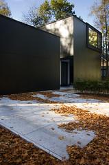 Architectuur: Exterieur (Wouter De Ceuster) Tags: white abstract black architecture modern exterior architectuur woning exterieur