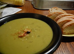 Dinner: Split Pea Soup
