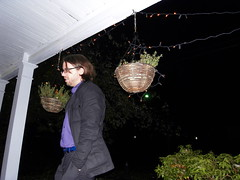 anthony on the porch. (stephiblu) Tags: november autumn party guests fun nj montclair 2008 autumnball autumnball2008 tichenortichenors