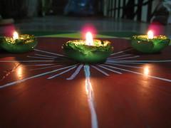 Deepawali - Rangoli (Praneet Khare) Tags: lamps diwali deepawali rangoli