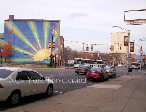 Genesee Street north Utica