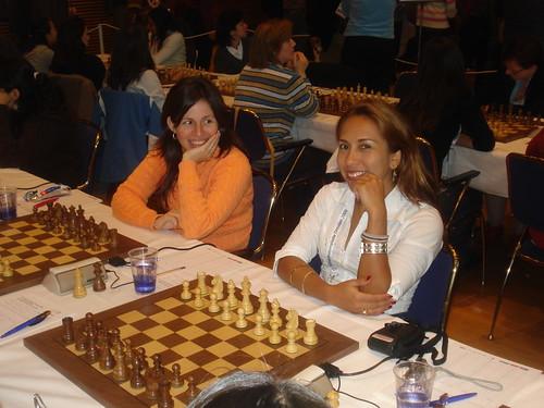 Martha Fierro i Rocio Vasquez, 1r i 2n tauler dEquador femení