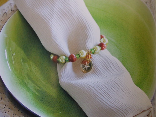 Table Trinkets napkin rings project for CraftStylish Holiday Decorating Ideas magazine!