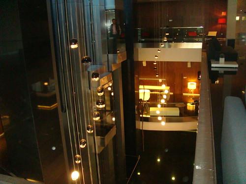 Vista interior desde la primera planta
