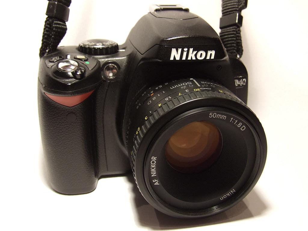 D40 & 50mm f/1.8 D