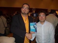 con Miguel Orense