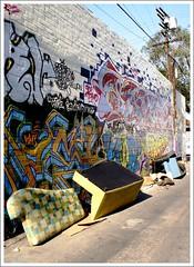 TRIPLEup!!! (SNOTY PIMPIN) Tags: losangeles random shit vandalism thc sofafree 100 alleys srt ecm sts pmk nts dcv u4ik uvy