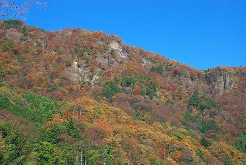 袋田の山々
