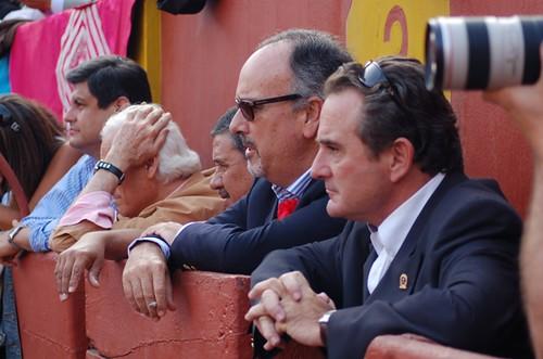 Roberto Puga y Juan Manuel Roca Rey en Acho