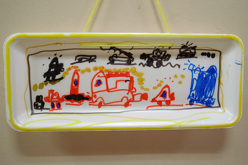 his works at the kindergarten #4