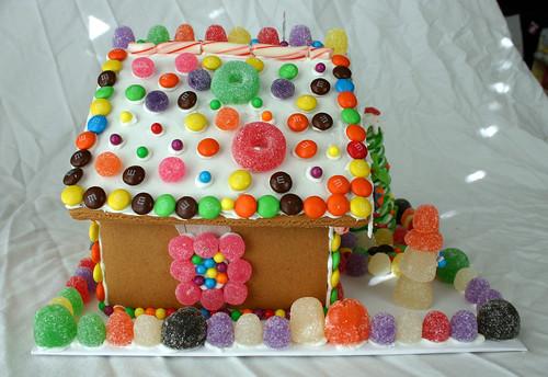 Gingerbread House -- Left Side