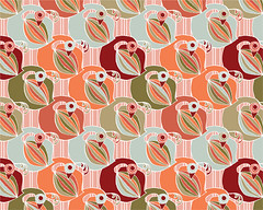 goose of a different color (jessicagswift) Tags: bird animal illustration digital computer pattern surfacedesign goose repeating