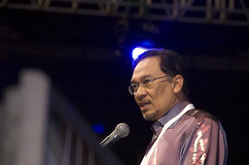 Majlis Penutup Kongress PKR ke 5 by Anwar Ibrahim.