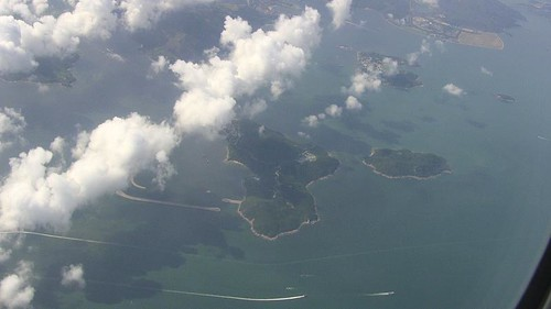 View of An Island After Take-Off