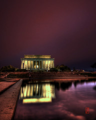 Reflections of Gettysburg (@!ex) Tags: longexposure church night clouds washingtondc washington memorial wideangle capitol lincoln hdr aficionados sigma1020mm supershot mywinners abigfave k10d pentaxk10d theunforgettablepictures overtheexcellence alexbenison goldstaraward