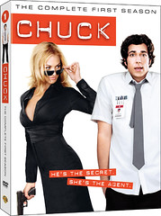 Chuck: The Complete First Season DVD box art