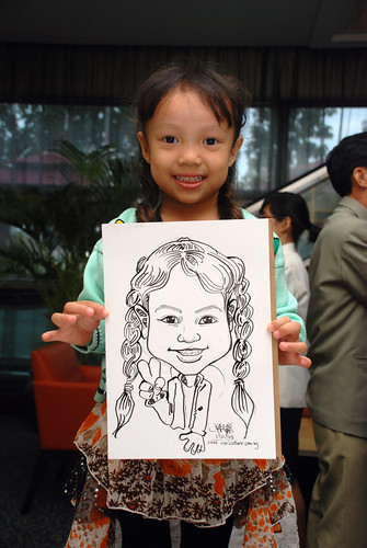Caricature live sketching for IMEH - 5
