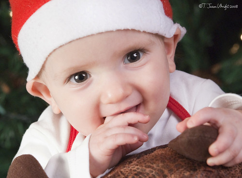 10-3/4 Months - Christmas Portraits