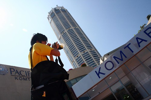 Outside of KOMTAR by you.