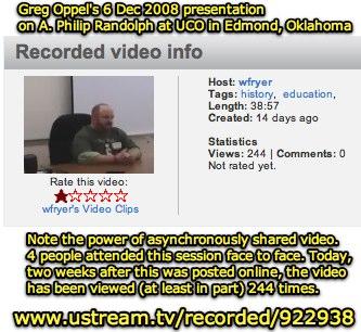 A. Philip Randolph: Service Not Servitud, wfryer Ustream.TV: Greg Oppel's presentation.
