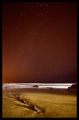 Itzurun, Zumaia. Diciembre 2008 (martin zalba) Tags: sea espaa night stars landscape mar spain paisaje estrellas nocturna navarra guipuzcoa zumaia cantabrico flysch itzurun canon50d flysh martinzalba
