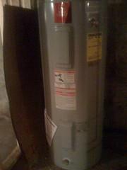 Water heater in (by ann-dabney)