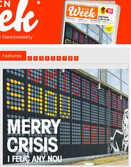 pues eso (nadie en campaña) Tags: media cover nadie bcnweek merrycrisis