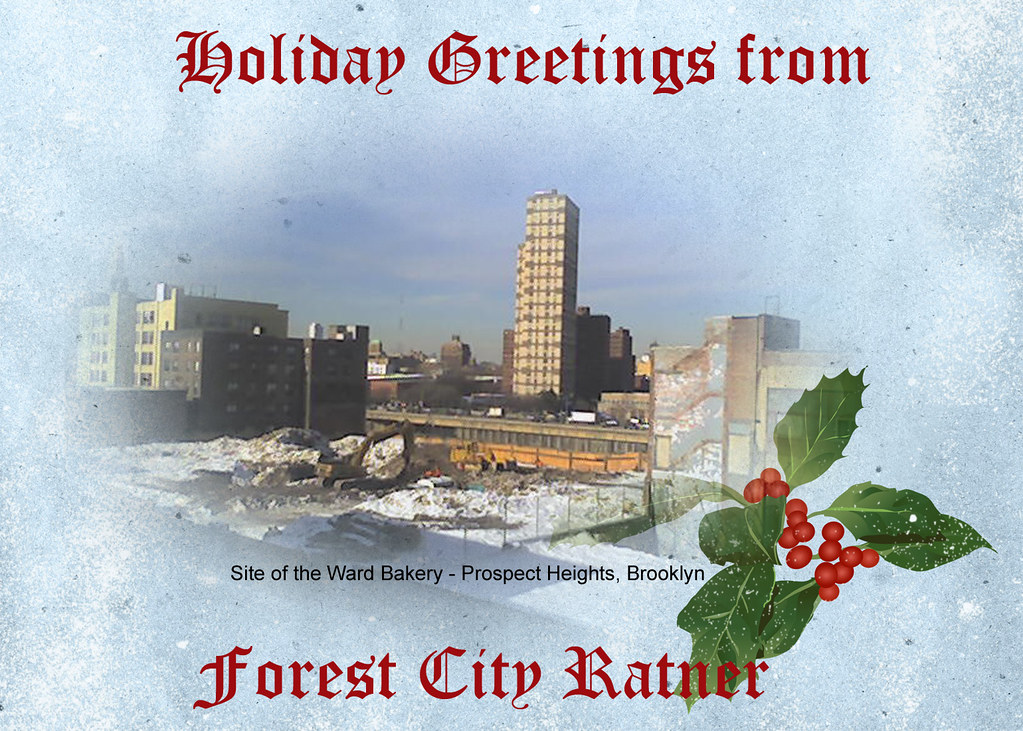 Crappy Holidays From Forest City Ratner