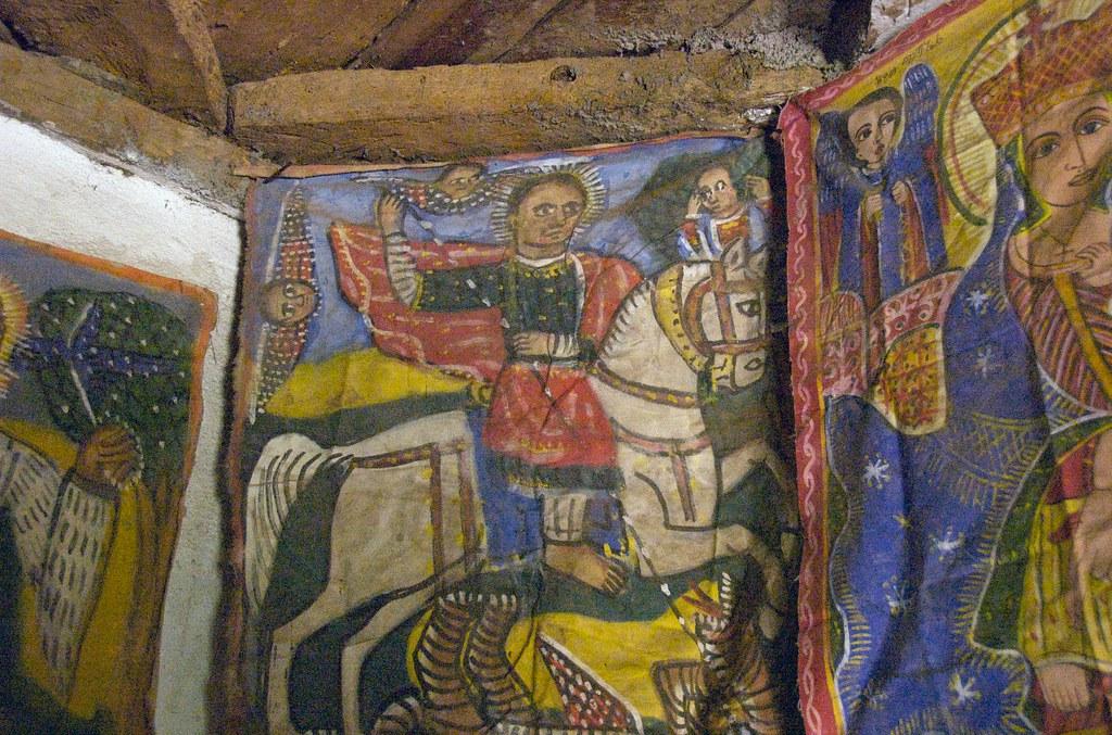 Ethiopian Christian Orthodox Paintings, Yeha, Ethiopia